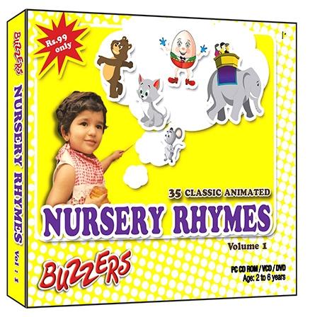 Buzzers - Nursery Rhymes Volume 1 CD
