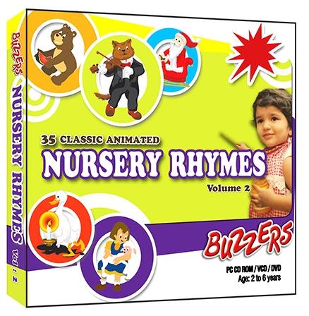 Buzzers - Nursery Rhymes Volume 2 CD