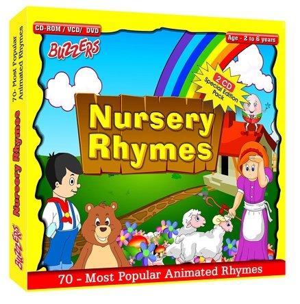 Buzzers - Nursery Rhymes CD DVD CD ROM