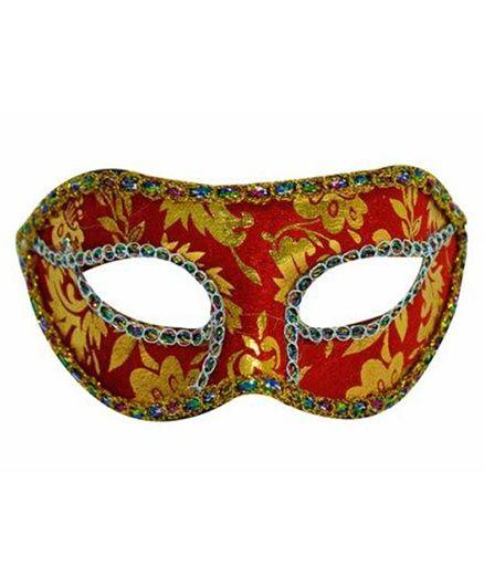 SmartCraft Velvet Eye Mask - Red