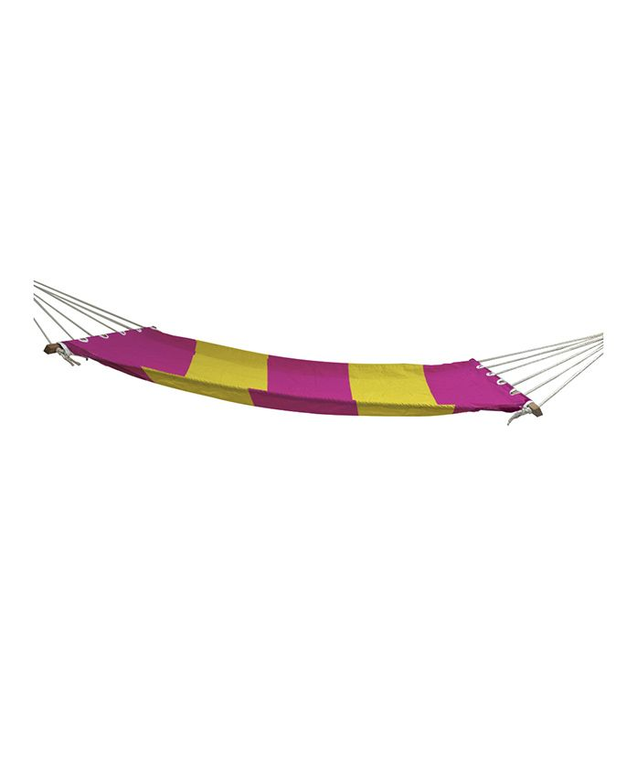 Slackjack Single Layer Hammock - Pink & Yellow