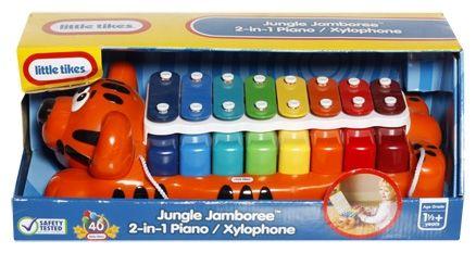 Little Tikes Jungle Jamboree 2-in-1 Piano  Xylophone