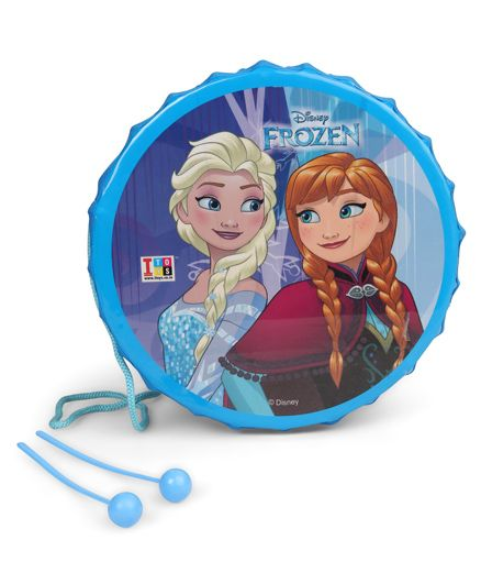 Disney Frozen Big Drum Set - Blue