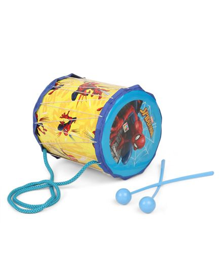 Marvel Spider Man Dhol Set - Yellow Blue