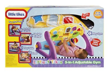 Little Tikes - Littlest Tikes 5 in 1 Adjustable Gym