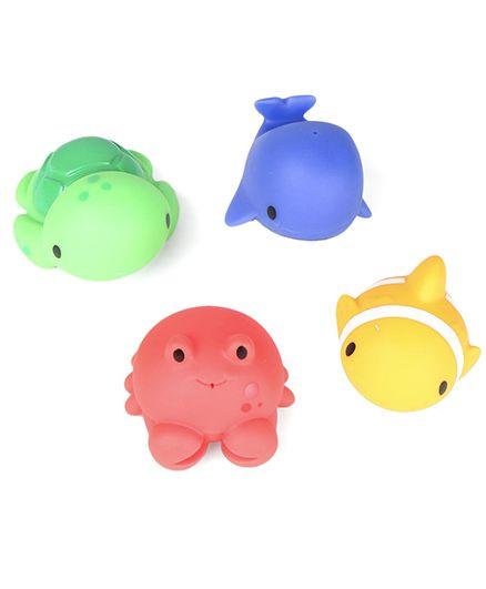 Munchkin Ocean Bath Squirts Pack of 4 - Multicolour