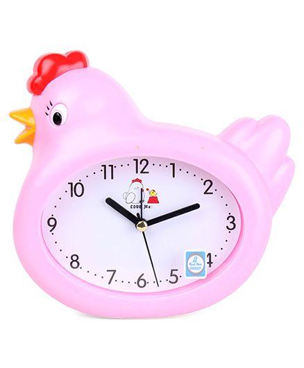 Hen Shaped Alarm Clock - Pink