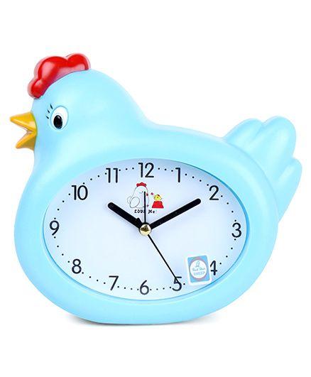 Hen Shaped Alarm Clock - Blue