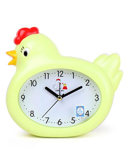 Hen Shaped Alarm Clock - Green