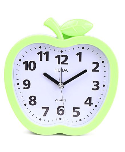 Apple Shaped Alarm Clock - Green