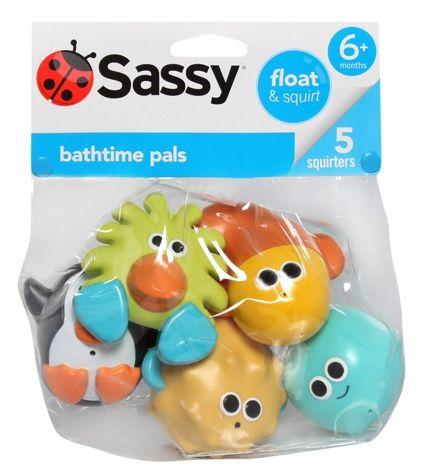 Sassy Bathtime Pals