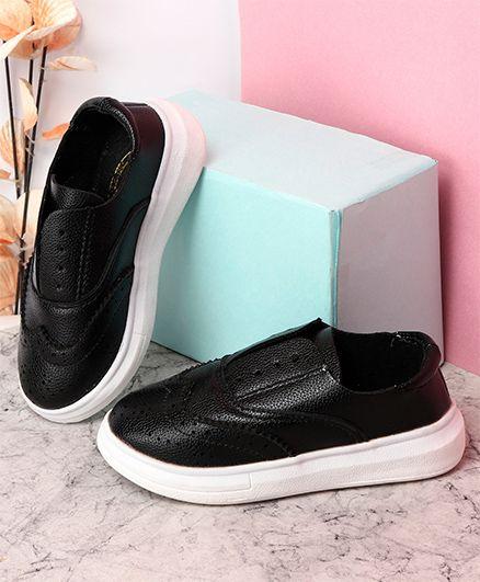 KIDLINGSS Stylish Slip-On Casual Shoes - Black