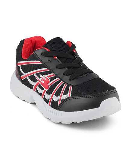 Kittens Shoes Sports Shoes - Red & Black