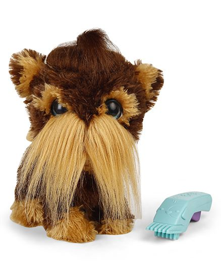 Hasbro Shaggy Shawn Soft Toy Brown - Height 24 cm