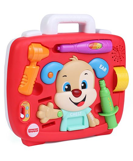 Fisher Price Laugh & Learn Smart Stages Puppy's Check Up Kit - Multi Color