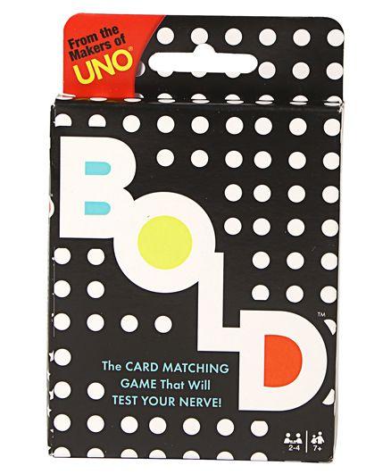 Mattel Bold Card Game - Multi Color