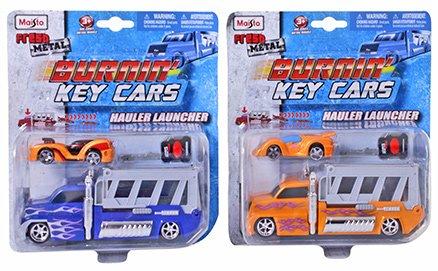 Maisto - Burning Key Cars Hauler Launcher