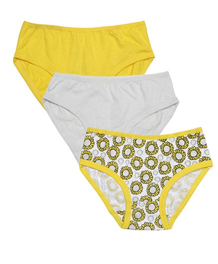 Claesens Holland Panty Pack Of 3 - Yellow