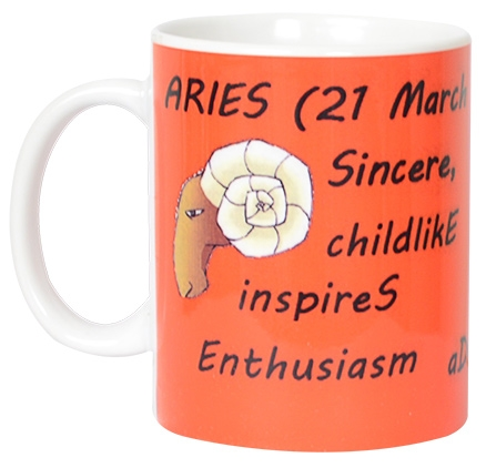 meSleep Courageous Aries Zodiac Sign Mug