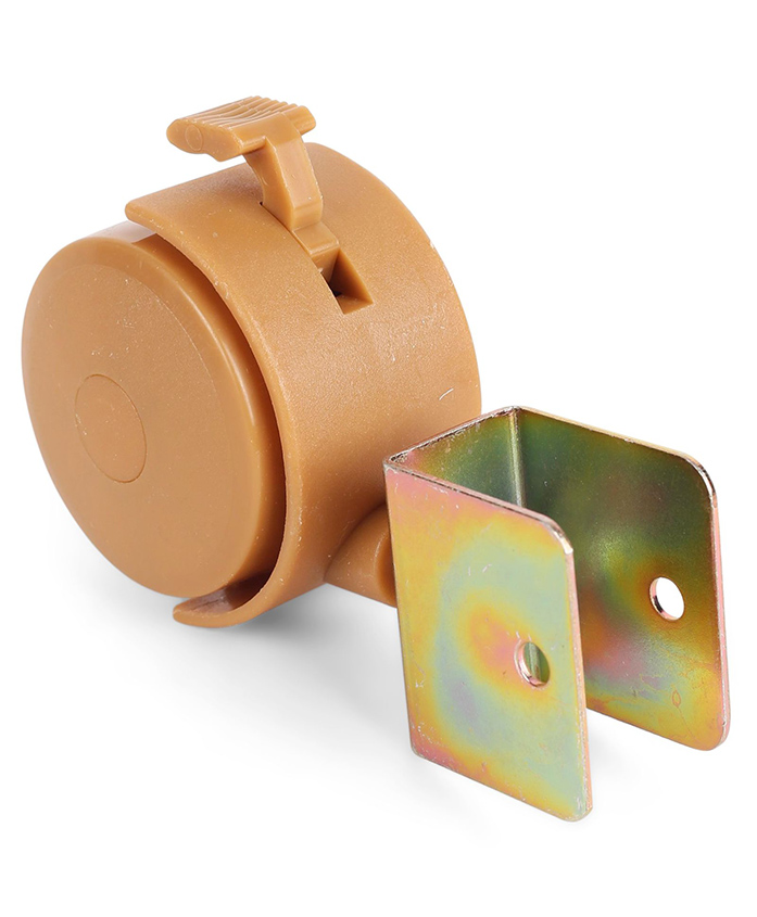 NUBF025 Wheels Set- 4pcs - Brown For Baby Furniture