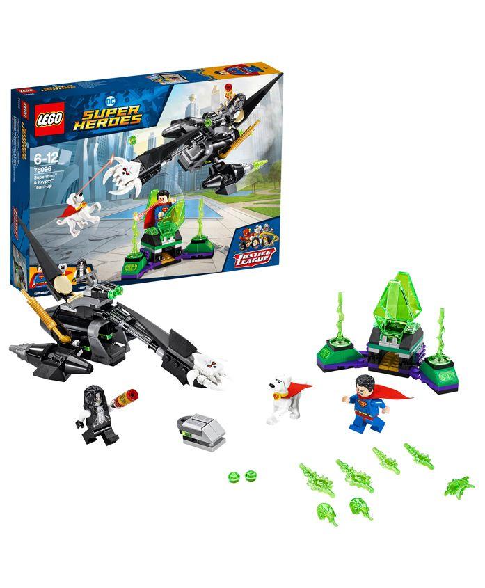 Lego DC Justice League Superman & Krypto Team Up Building Set - 199 Pieces