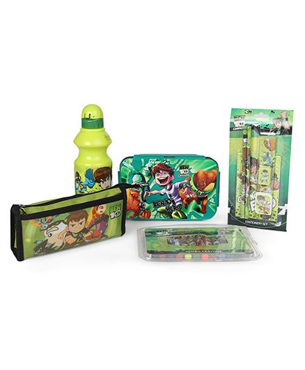 Ben 10 School Kit - Green