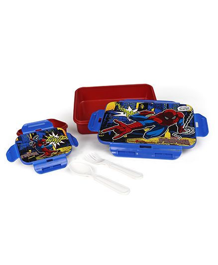 Marvel Spider Man School Kit Set Of 5 - Red Blue