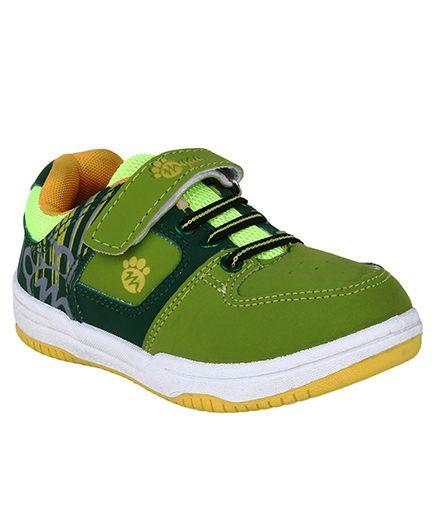 Myau Slip On Style Sports Shoes - Green