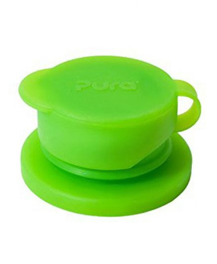 Pura Sport Big Mouth Silicone Sport Bottle Top - Green