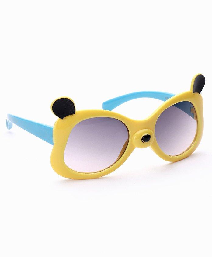 Babyhug UV 400 Protected Sunglasses - Yellow Blue