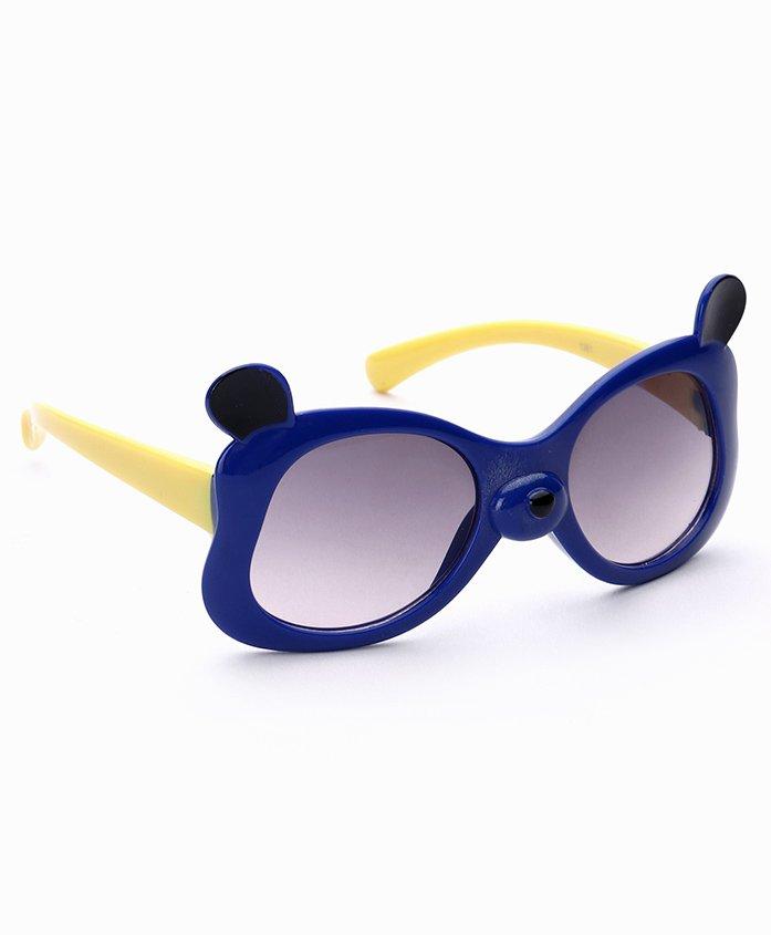 Babyhug UV 400 Protected Sunglasses - Royal Blue Yellow