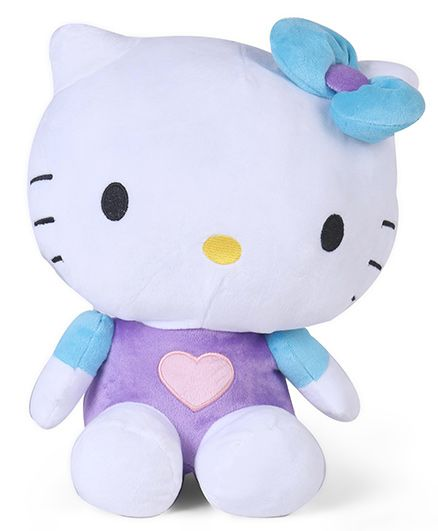 Hello Kitty Plush Toy Blue Purple - Height 36 cm