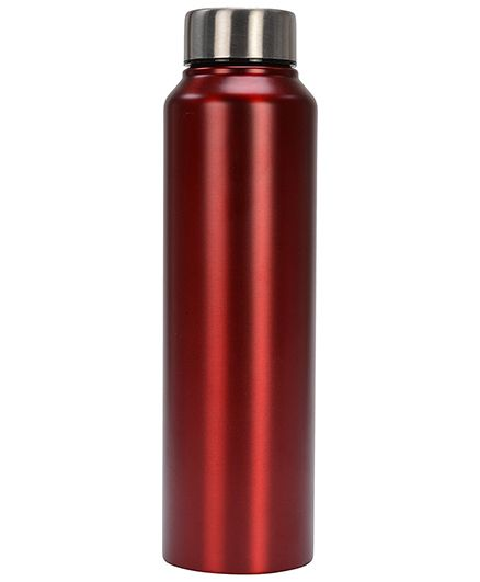 Pexpo Chromo Water Bottle Matt Red - 1000 ml