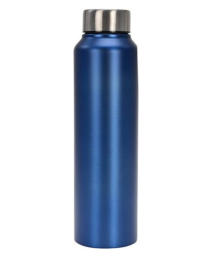 Pexpo Chromo Water Bottle Matt Blue - 1000 ml