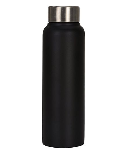 Pexpo Chromo Sleek Water Bottle Matt Black - 500 ml