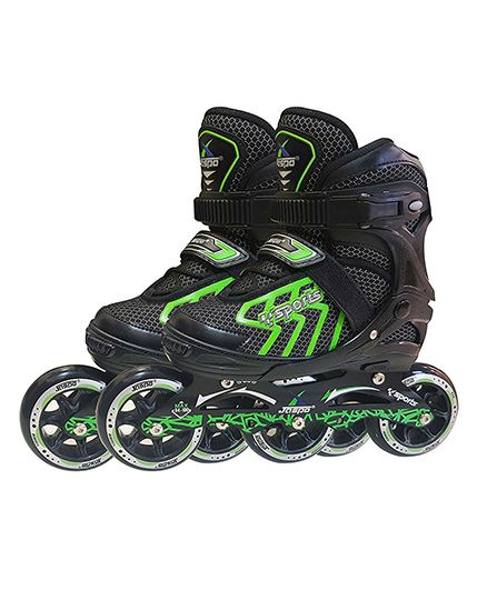 Jaspo Inline Skates Medium Size - Green