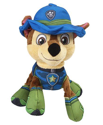 Paw Patrol Basic Plush Pup Soft Toy Multicolor - Length 15.5 cm