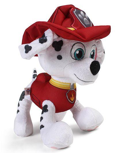 Paw Patrol Plush Marshall Soft Toy Red & White - 25.4 cm
