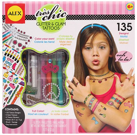 Alex Toys - Glitter and Glam Tattoos
