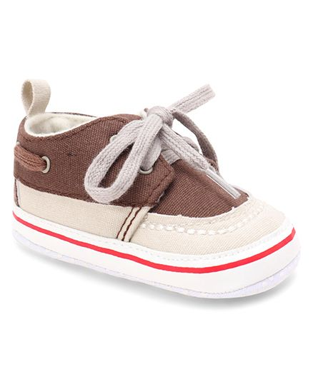 d0439bec569e 60%off Cute Walk by Babyhug Shoes Style Booties - Brown