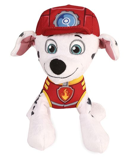 Paw Patrol Marshall Plush Toy White - Length 15.5 cm
