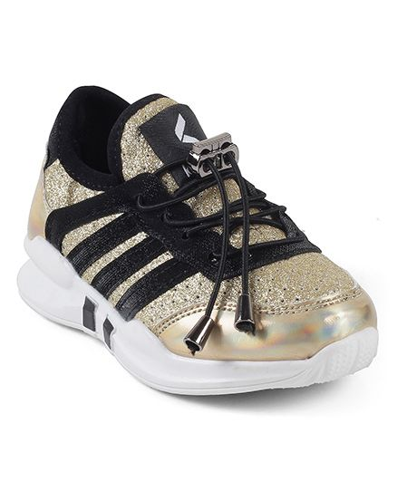 Kittens Sports Shoes - Gold