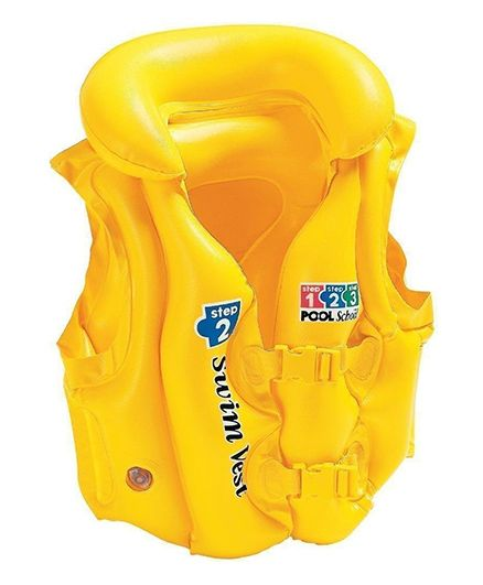Intex Deluxe Swim Vest - Yellow
