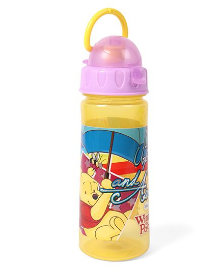 Disney Winnie the Pooh Sipper Bottle Yellow - 500 ml