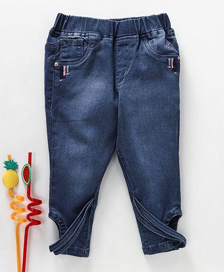 Gini & Jony Stone Wash Jeans - Dark Blue