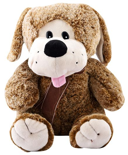 Curtis Puppy Plush Toy Brown - Height 30 cm