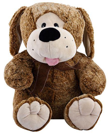 Curtis Puppy Plush Toy Dark Brown - Height 40 cm