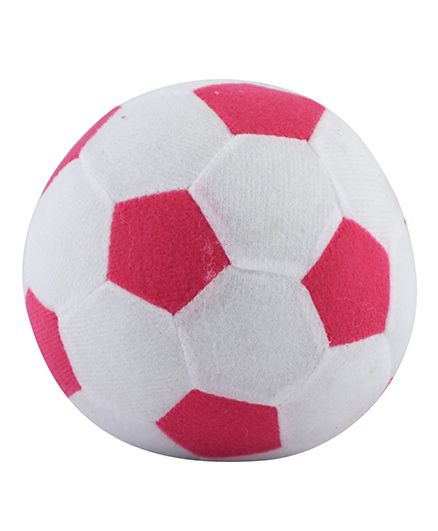 Curtis Toys Football Plush - Pink White