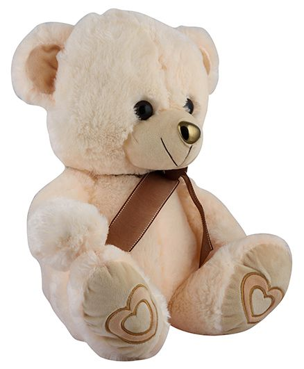 Curtis Teddy Plush Toy Cream - Height 27 cm