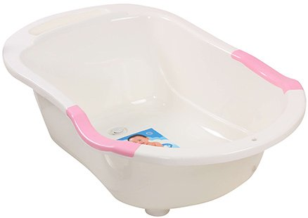 fab n funky baby bath tub white 0 month best deals with price comparison online shopping. Black Bedroom Furniture Sets. Home Design Ideas